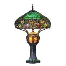 Hampstead Tiffany Style Stained Glass 34 Table Lamp Stained