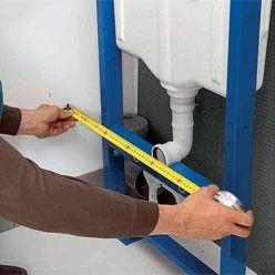Fixation D Un W C Suspendu Tutoriel Installation Douche Wc Suspendu Toilette Suspendu