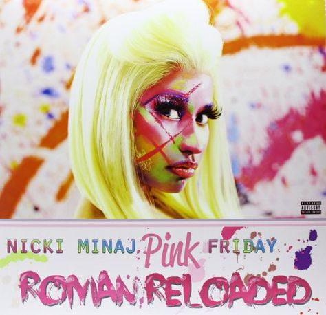 Pink Friday . Roman Reloaded [2 LP][Explicit] Cash Money https://www.amazon.com/dp/B0085I0UHW/ref=cm_sw_r_pi_dp_x_hOeQxbASF636F