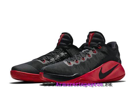 a22f09b7ab98 Chaussures De BasketBall Nike Hyperdunk 2016 Low Prix Homme Noir   rouge  844364 060