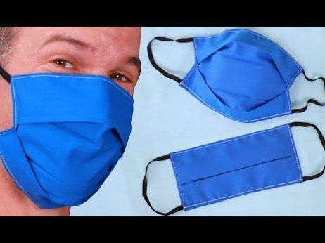 How To Sew A Medical Face Mask Face Mask Cover Diyfacemask Easy Face Masks Sewing Easy Face Mask Diy