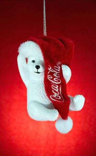Pin 33 x 33 mm 3 B/ären Trinken Cola Coca Cola