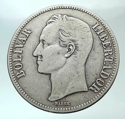 Details About 1929 Freemason President Simon Bolivar Venezuela