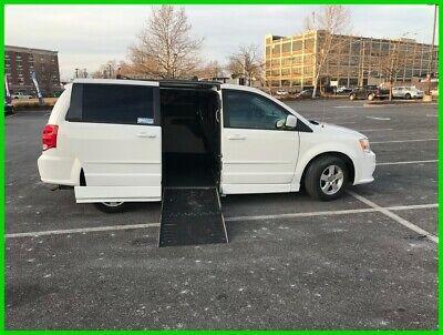 Ebay Advertisement 2012 Dodge Grand Caravan Sxt Van Wheelchair