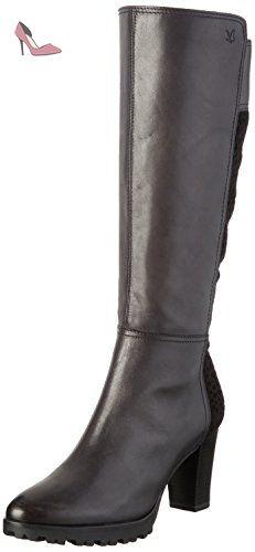 25540, Bottes Hautes Femme, Gris (Grey 200), 40 EUCaprice