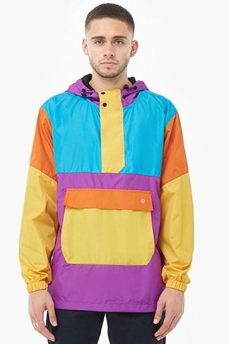 46d6e81f5 Elbowgrease Hooded Colorblock Windbreaker | Products in 2019 | Men's ...