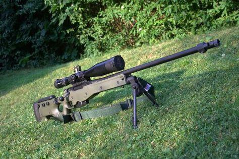 Psg90 prickskyttegevär 90. Swedish armed forces precision rifle