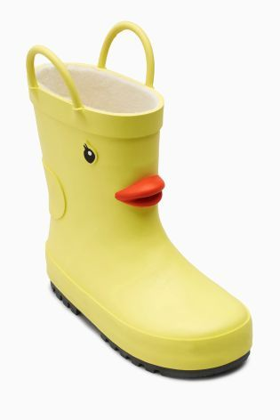 Baby Yellow Rubber Boots