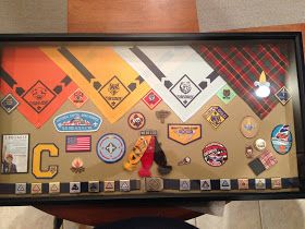As I See It: Cub Scout Shadow Box