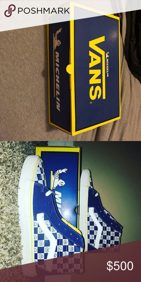 fd53fa058ed0 Vans x Michelin ultra rare shoes They are deadstock and sell for 500+ open  to trades Vans Shoes Sneakers
