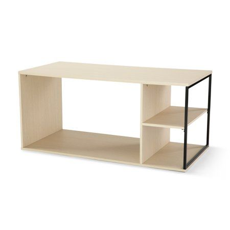Prime Mainstays Kalla Wood And Metal Coffee Table Multiple Colors Machost Co Dining Chair Design Ideas Machostcouk