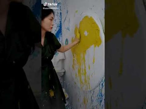 Painting A girl#paintings #oilpainting #foryou #fyp - YouTube