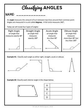20++ 4th grade math angles worksheets Live
