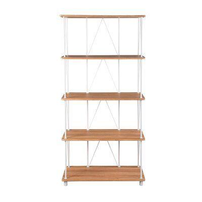 Ebern Designs Salih Etagere Bookcase Wayfair In 2020 Bücherschrank Bücherregal Regal