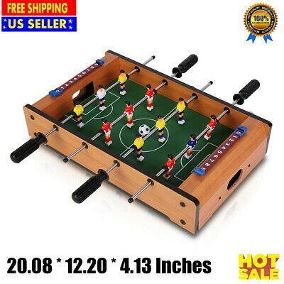 Advertisement Ebay 20 Portable Mini Tabletop Foosball Table Table Football Soccer Game Kit 4 Rows Table Top Football Soccer Table Family Games