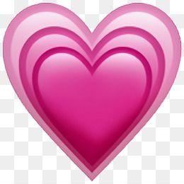 Emoji Corazon Iphone 7 Png Imagenes Imagens De Emoji Emoji