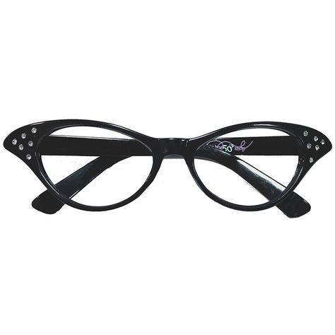 b11ca6181c5a Amazon.com  Hip Hop 50s Shop Womens Cat Eye Rhinestone Glasses ...