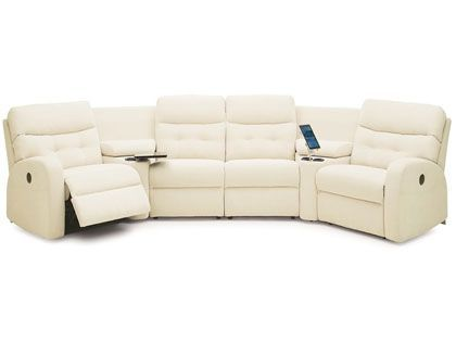 C Shaped Couch Pallister Sofas Palliser Leather Sectionals