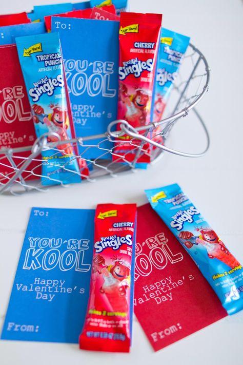 """You're Kool"" Valentines {Free Printable} | mynameissnickerdoodle.com"