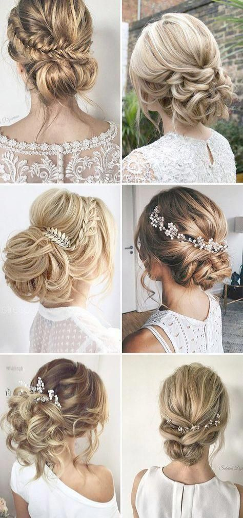 Simple Hairstyles For Wedding Party Step By Step Elegant African American Wedding Hairstyles Weddinghairstylessimple Hair Styles Long Hair Styles Loose Updo
