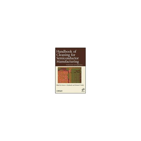 Handbook for Cleaning for Semiconductor Manufacturing - (Wiley-Scrivener) (Hardcover)