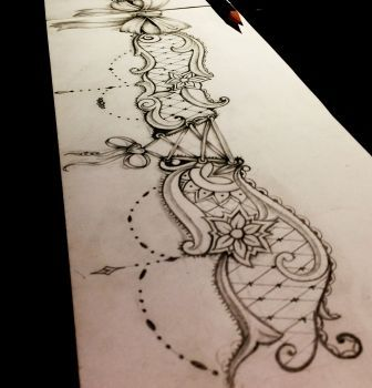 Lace Drawing Tattoo Lace Drawing Bow Tattoo Designs Lace Bow Tattoos Lace Garter Tattoos