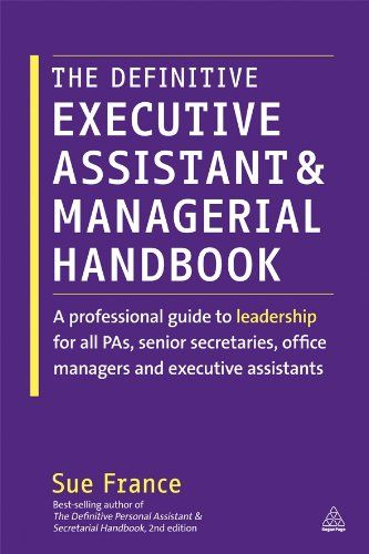 Download Pdf The Definitive Executive Assistant And Managerial