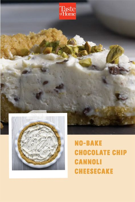 I make this cheesecake in the summer for a flavorful and refreshing treat. I love the added bonus of not having to turn on the oven in hot weather. —Kristen Heigl, Staten Island, New York