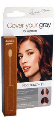 Cover Your Gray Hair Coloring Root Touch Black .25 oz. (Pack of 6 ...