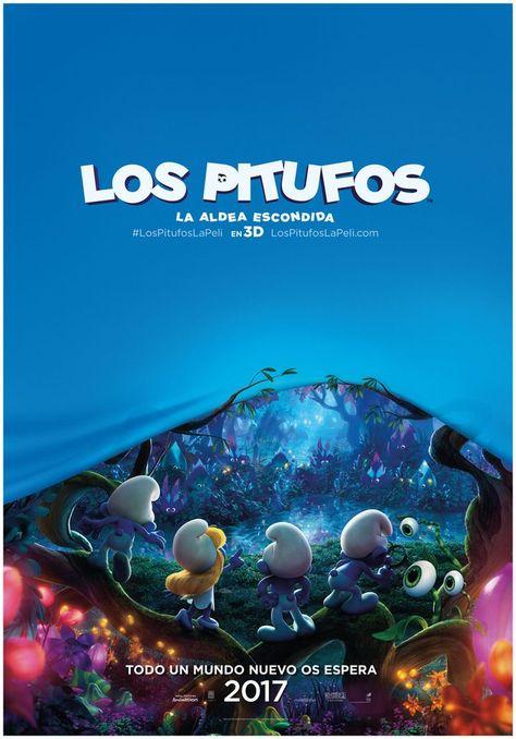 Los Pitufos La Aldea Escondida Animacion 3d 2017 Lost Village Smurfs Movie Smurfs