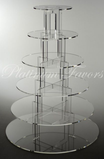 Cheap cupcake stand, Buy Quality cake display stand directly from China cake display Suppliers: Hot Cheapest !Round Clear 4 Tier wedding favors Wedding Cake Display Stand Cupcake Stand For Wedding Party