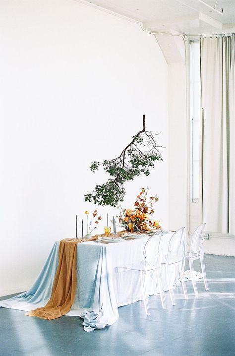 100 Layer Cake: Modern Minimal Fall Loft Wedding Ideas — SUSIE SALTZMAN