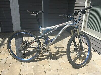 Sponsored Ebay Titus Racer X Full Suspension Mountain Bike Size