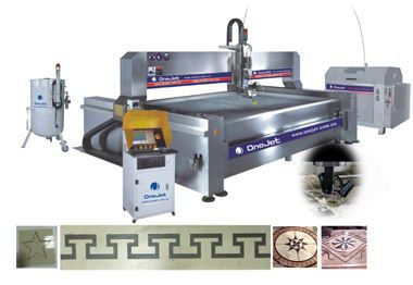 3000x2000mm Waterjet Aa Five Axis For Marble Pettern Water Jet Portable Granite Stone