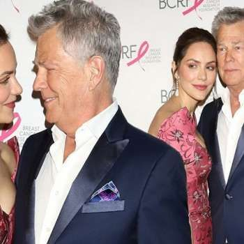 Katharine Mcphee And David Foster Get Marriage License At L A Courthouse Celebrities Marriage License Actors