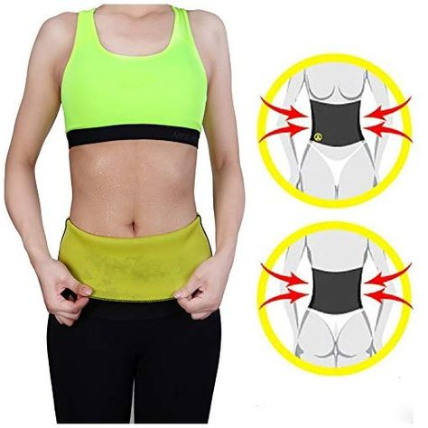 d026a5ac5e9d4 DODOING Hot Thermo Sweat Neoprene Slimming Shapers Belt Waist Cincher  Trainer