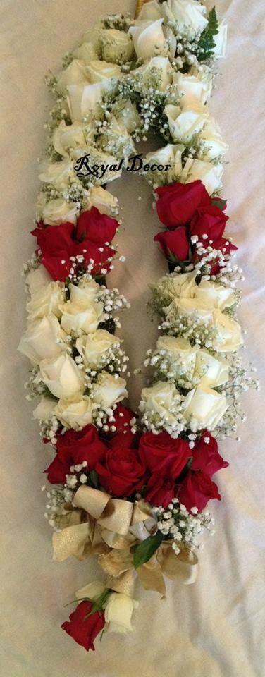 Haar Garland Wedding Stani Indian Fresh Flower Jewelry Pinterest Garlandehndi
