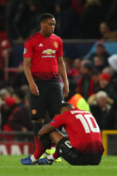 Anthony Martial Of Manchester United And Marcus Rashford Look Manchester United Anthony Martial Manchester United Football Club