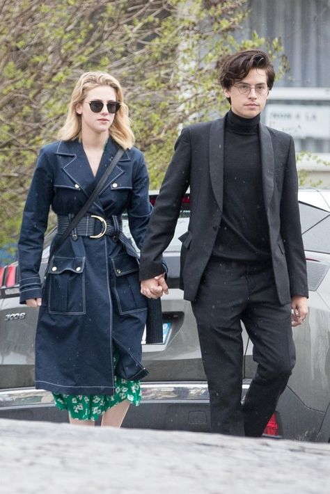 9 Times Lili Reinhart and Cole Sprouse Dressed Like the Real-Life Betty and Jughead