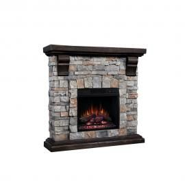 Classicflame Pioneer Stone Brushed Dark Pine Finish By Twin Star