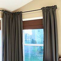 Sugar blossoms diy curtain hangers diy curtain simple bathroom how to make your curtains gather perfectly plus other easy diy curtain ideas use ribbon to make curtains gather evenly from just a girl solutioingenieria Images