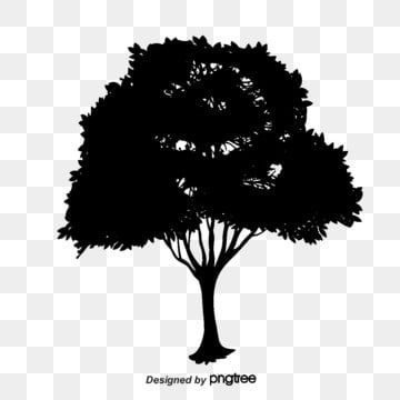 Trees Silhouette Silhouette Vector Trees Sketch Png Transparent Clipart Image And Psd File For Free Download Silhouette Vector Vector Trees Tree Sketches