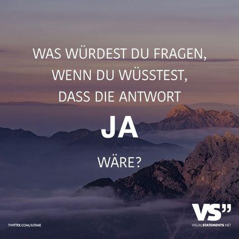 #answer #knew #VISUAL | Sprüche, Visual statements