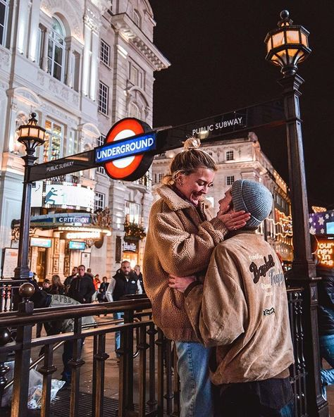 Piccadilly Circus Underground London United Kingdom - Places To Visit In The Uk Top Places To See In London Instagram Spots - Wanderers & Warriors Charlie And Lauren Uk Travel Couple