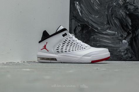 buty na tanie najnowszy nowy koncept Jordan Flight Origin 4 White/ Gym Red-Black at a great price ...