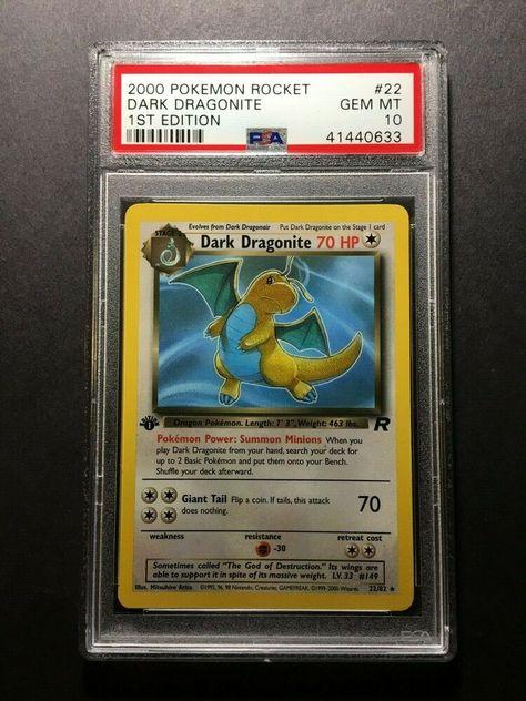 NM-MINT Pokemon 1ST EDITION TEAM ROCKET Complete Common Set 24 Cards