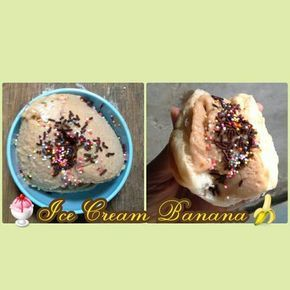 Resep Es Krim Blender Rasa Pisang Ice Cream Banana Oleh Jenny L Kitchen Resep Es Krim Resep Es Krim Krim