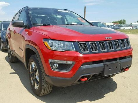 Salvage 2018 Jeep Compass Trailhawk Jeep Compass Jeep Salvage