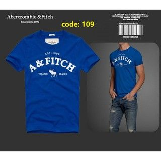 the sale of shoes wide range authorized site NEW US Abercrombie & Fitch AF 1892 Casual Sport Men T-shirt ...