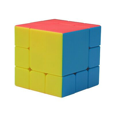 Advertisement Twpuzz 3x3x3 Bandaged Magic Cube Twist Puzzle Multi Color Stickerless Type A In 2020 Cube Puzzle Brain Teaser Puzzles Cube